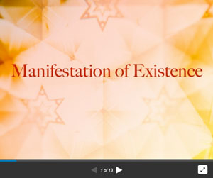 Manifestation of Existence
