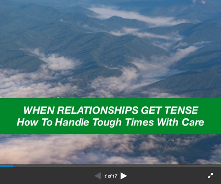 When Relationships Get Tense, by Michael Mamas